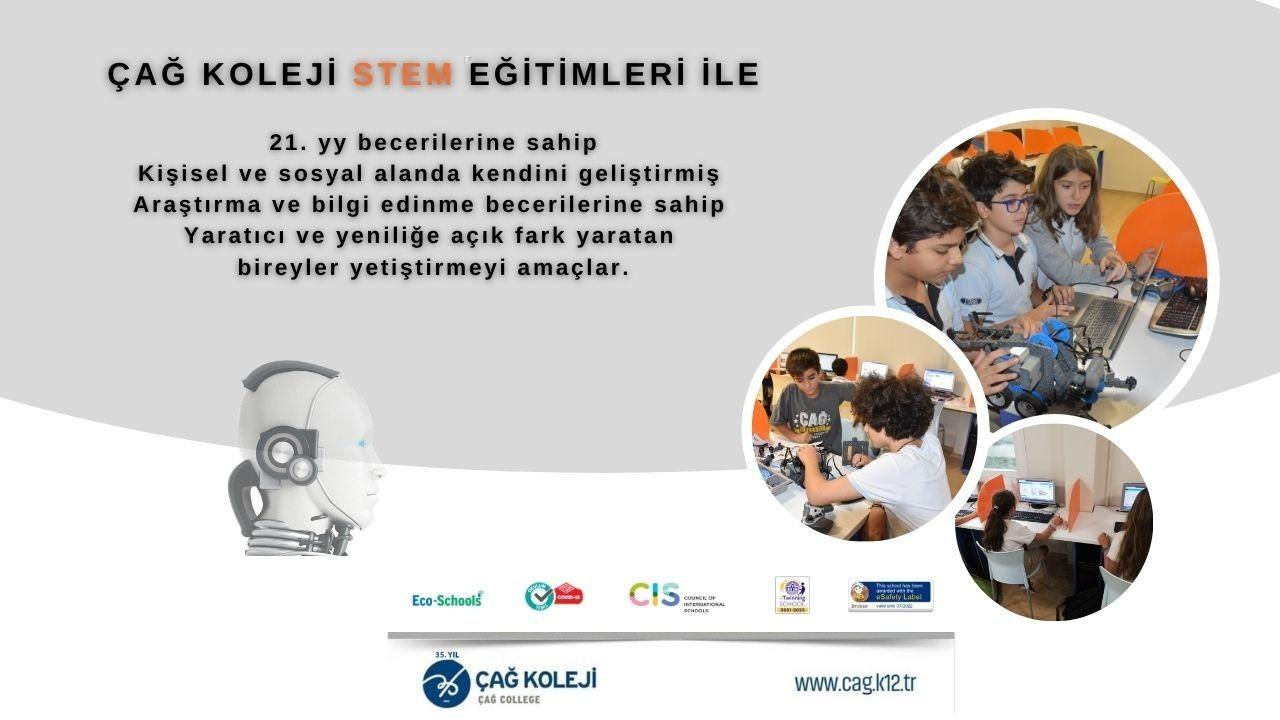 Çağ Koleji Ortaokul Öğrencileri Avrupa CodeWeekEU Başarı Sertifikası