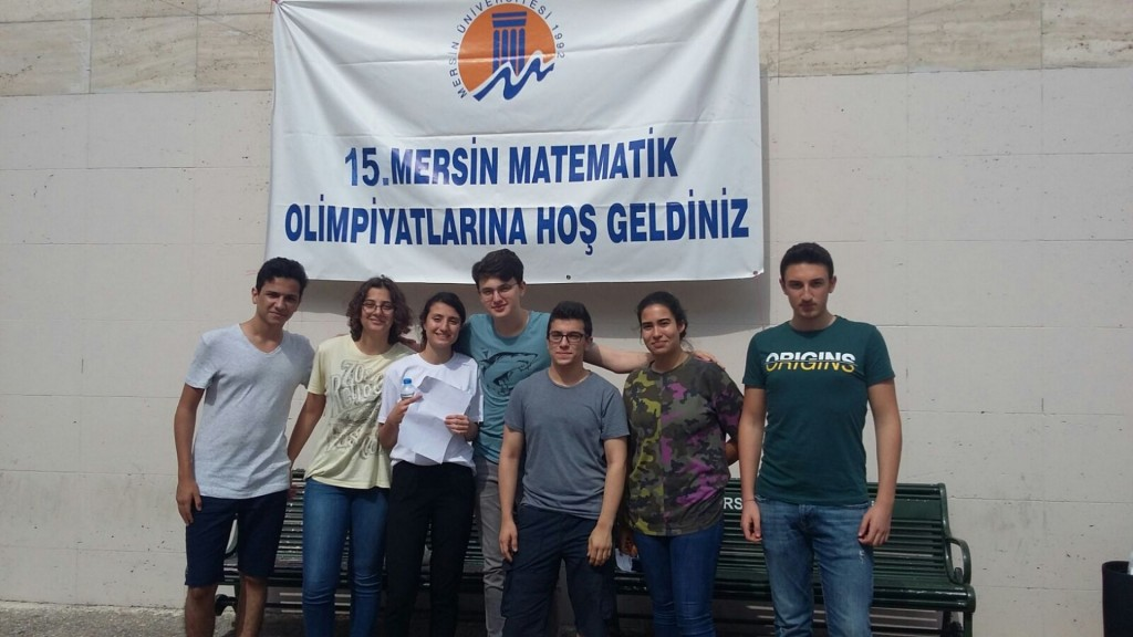 MERSİN UNIVERSITY 15th ANNUAL MATHEMATICS OLYMPIAD