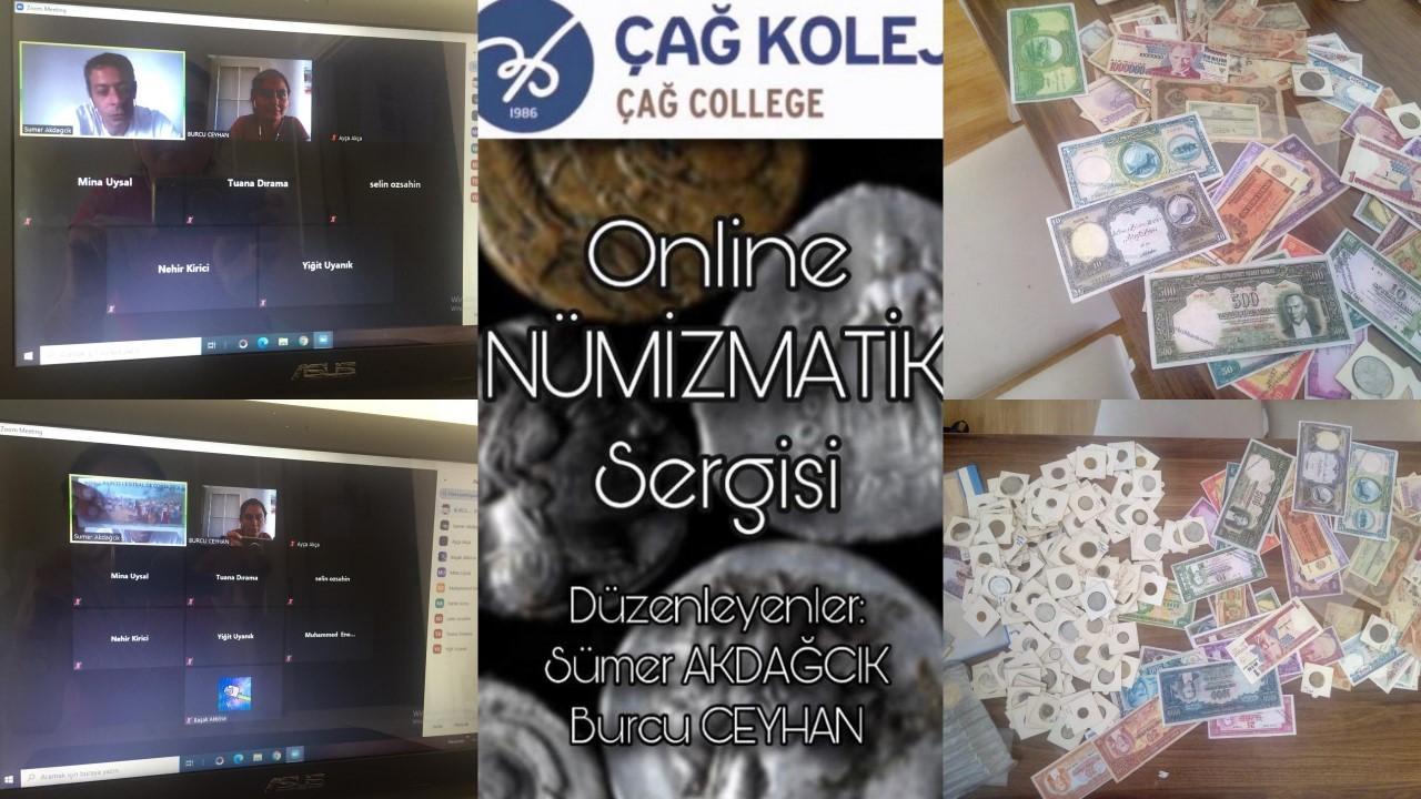 Özel Çağ Koleji Anadolu Lisesi / Çağ Fen ve Teknoloji Lisesi Online Nümizmatik Sergisi