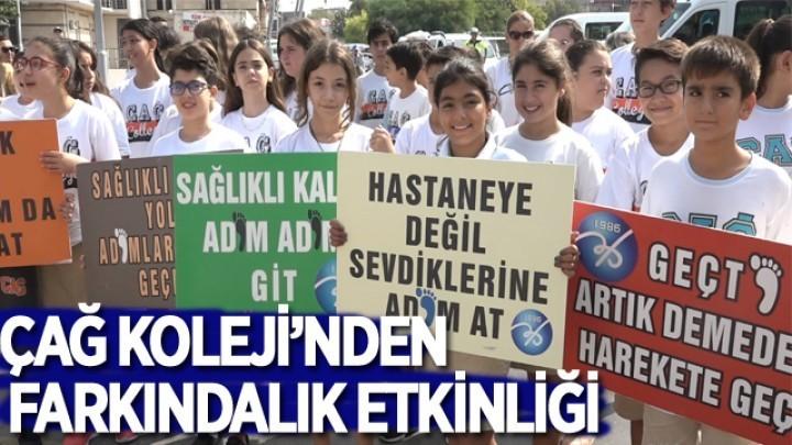 Çağ Koleji, 3-4 Ekim Dünya Yürüyüş Günü Etkinliği