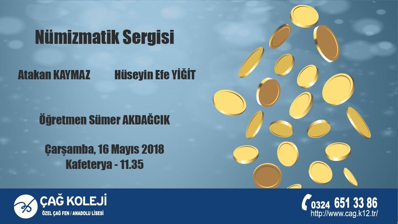 ÖZEL ÇAĞ FEN / ANADOLU LİSESİ NÜMİZMATİK SERGİSİ